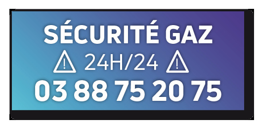 NUMERO SECURITE GAZ